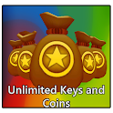 1000k Keys & Coins Subway Joke icon