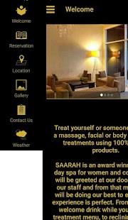 SAARAH Day Spa- screenshot thumbnail