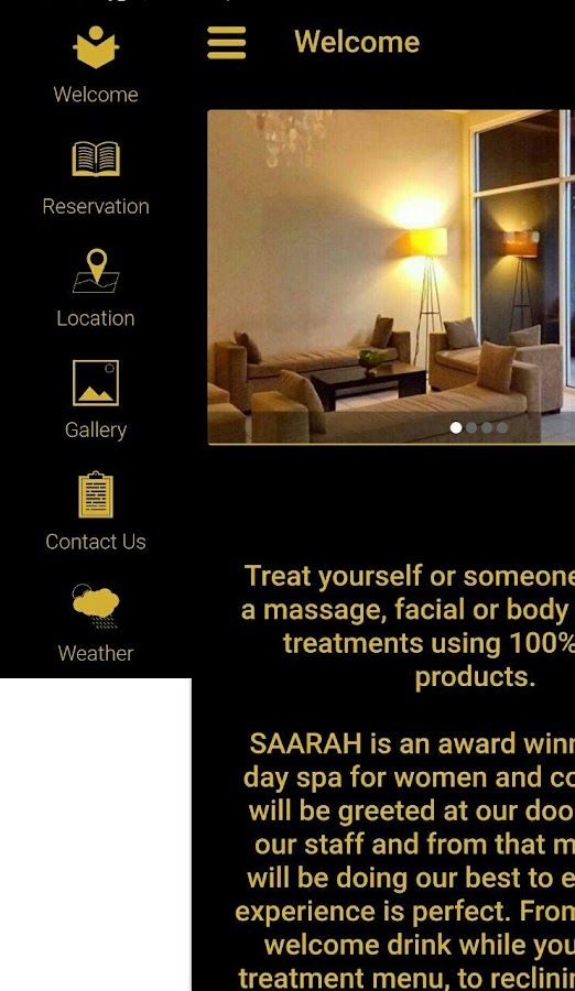 SAARAH Day Spa- screenshot