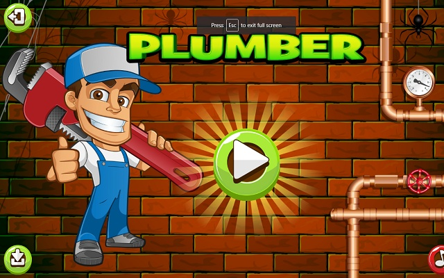 Plumber Pipes Game Puzzle