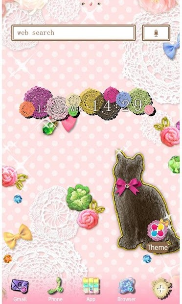 Cute Wallpaper Charmy Kitten Android App Screenshot