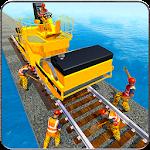 Indian Railway Bridge Builder: Train Games 2017 Icon