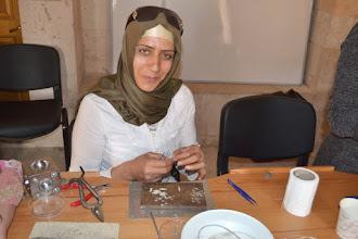 Photo: A workshop of students of the Art Department of Artuklu University of Mardin, Midyat