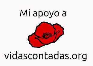 Photo: Si quieres apoyar el proyecto, hazte una foto con la amapola y remítela con tu nombre a vidascontadas.memoria(arroba)gmail.com FB: https://www.facebook.com/pages/Vidas-Contadas/625126120841139 Formulario para aportar tus datos: https://docs.google.com/forms/d/1_Rv1isGlHGVW5SC58Uec3xd3nuVZ1-qZYHypwNAW1po/viewform