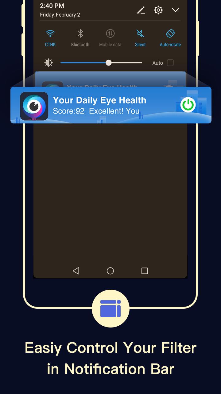 Blue Light Filter – Screen Dimmer for Eye Care Screenshot 4