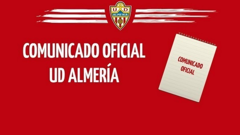 Comunicado del Almería.