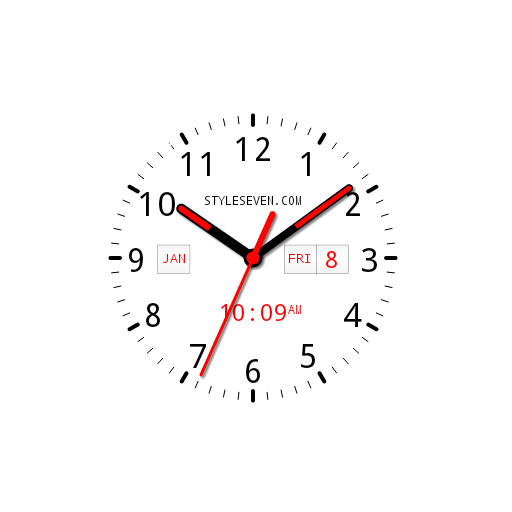 Analog Clock AW Plus-7 PRO app for Android