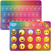 Rainbow Emoji Keyboard