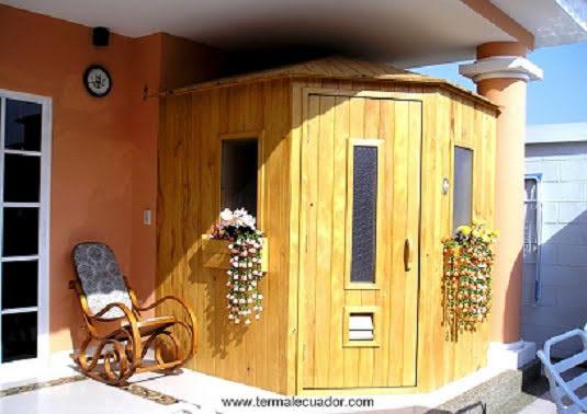 Termal ecuador hidromasajes piscinas - Construccion de saunas ...