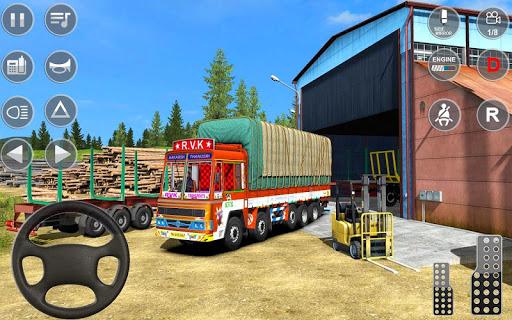 Indian Truck Spooky Stunt : Cargo Truck Driver 1.0 screenshots 11