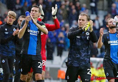 Le FC Bruges réduit la prime de titre pour ses joueurs en raison de la crise du coronavirus