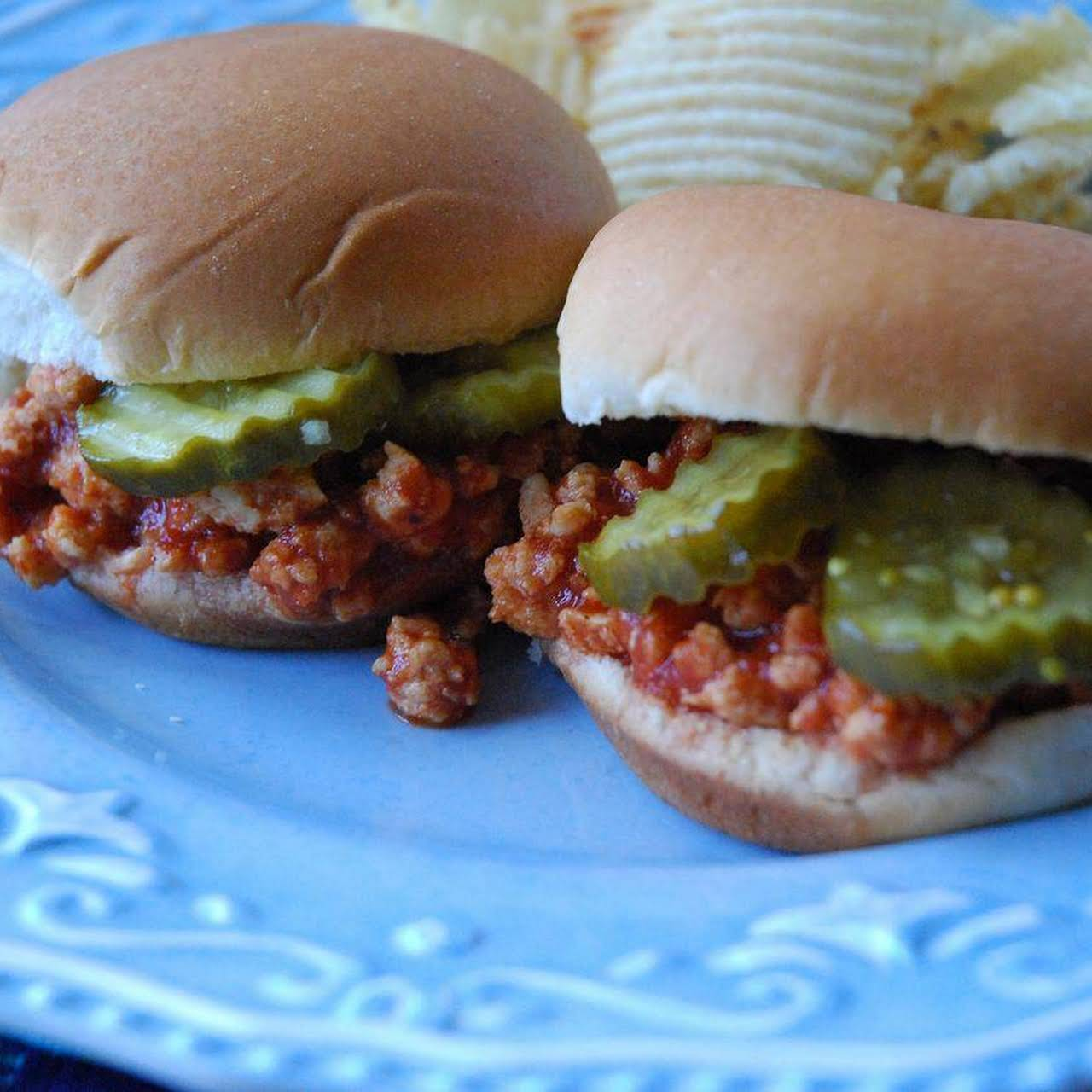 CHICKEN SLOPPY JOE SLIDERS