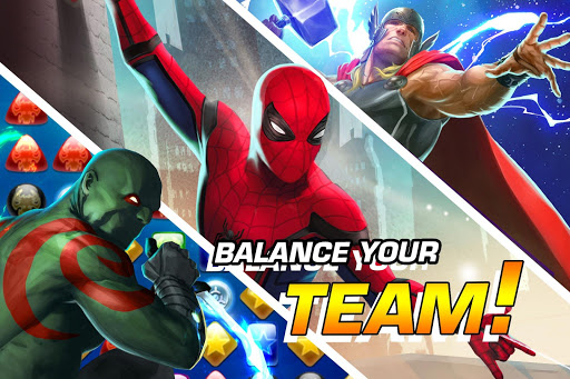 MARVEL Puzzle Quest: Join the Super Hero Battle! 207.535654 screenshots 2