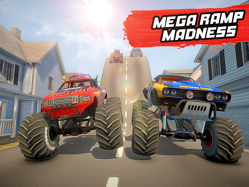 Mega Ramp Monster Truck Stunt Racing apkmr screenshots 7