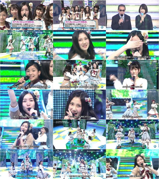 (TV-Music)(1080i) SKE48 Part – Music Station 151127