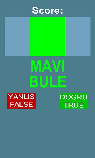 True Color: Dogru Yanlis