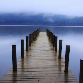 Calm Lakes by Ceri Jones - Landscapes Waterscapes ( calm, cumbria, lakes, lake district,  )