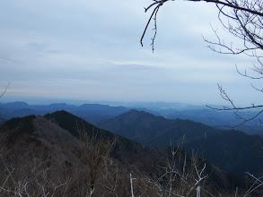 相戸岳方面