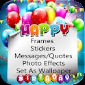 Birthday Frames icon