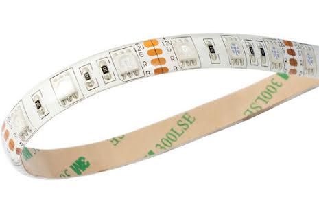 AquaComputer farbwerk RGB LED stripe, IP65, hvit, 25cm