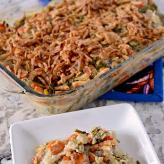 Soybean Vegetable Casserole Recipes
