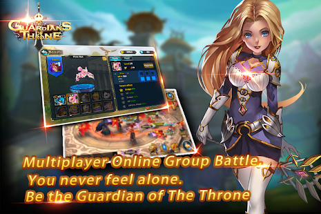 Mod Game Guardians of The Throne for Android