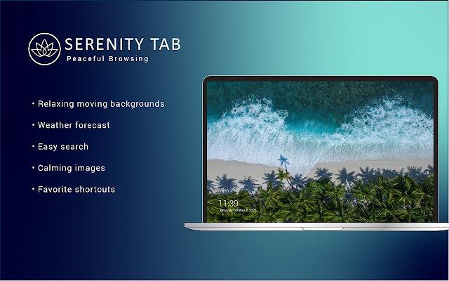 Serenity Tab: Peaceful Browsing