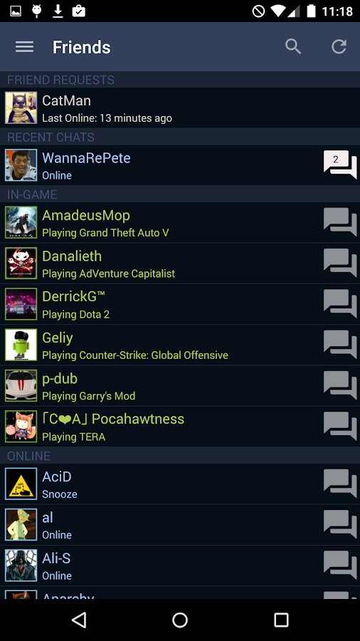 steam android apps on google play