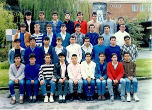 Photo: Curso 1987-1988 Tercero de BUP