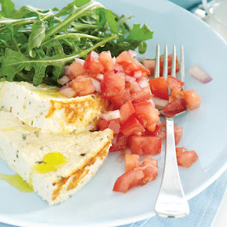Baked Ricotta with Fresh Tomato Salsa