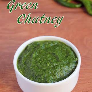 Green Chutney for Chaats | Mint Coriander Chutney.