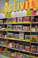 Photo: I was pleasantly surprised by how many toys, games, craft kits, and activities Chapters has.  I made a mental note to come here next time my girls need a birthday present for one of their little friends.  The selection was huge.