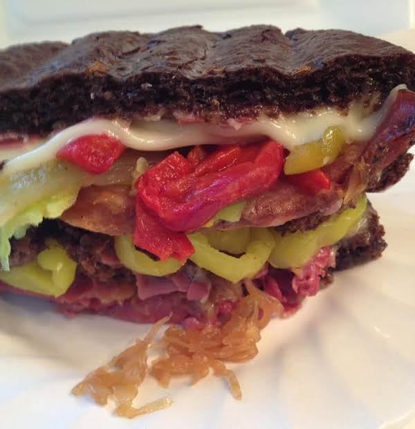 Germanfest Club Sandwich