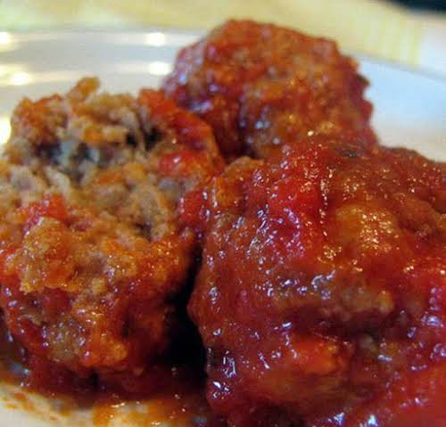 "Grandma's Italian Meatballs ""I made these last night and they were absolutely..."