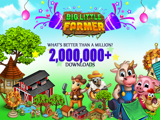 Big Little Farmer Offline Farm screenshot 1