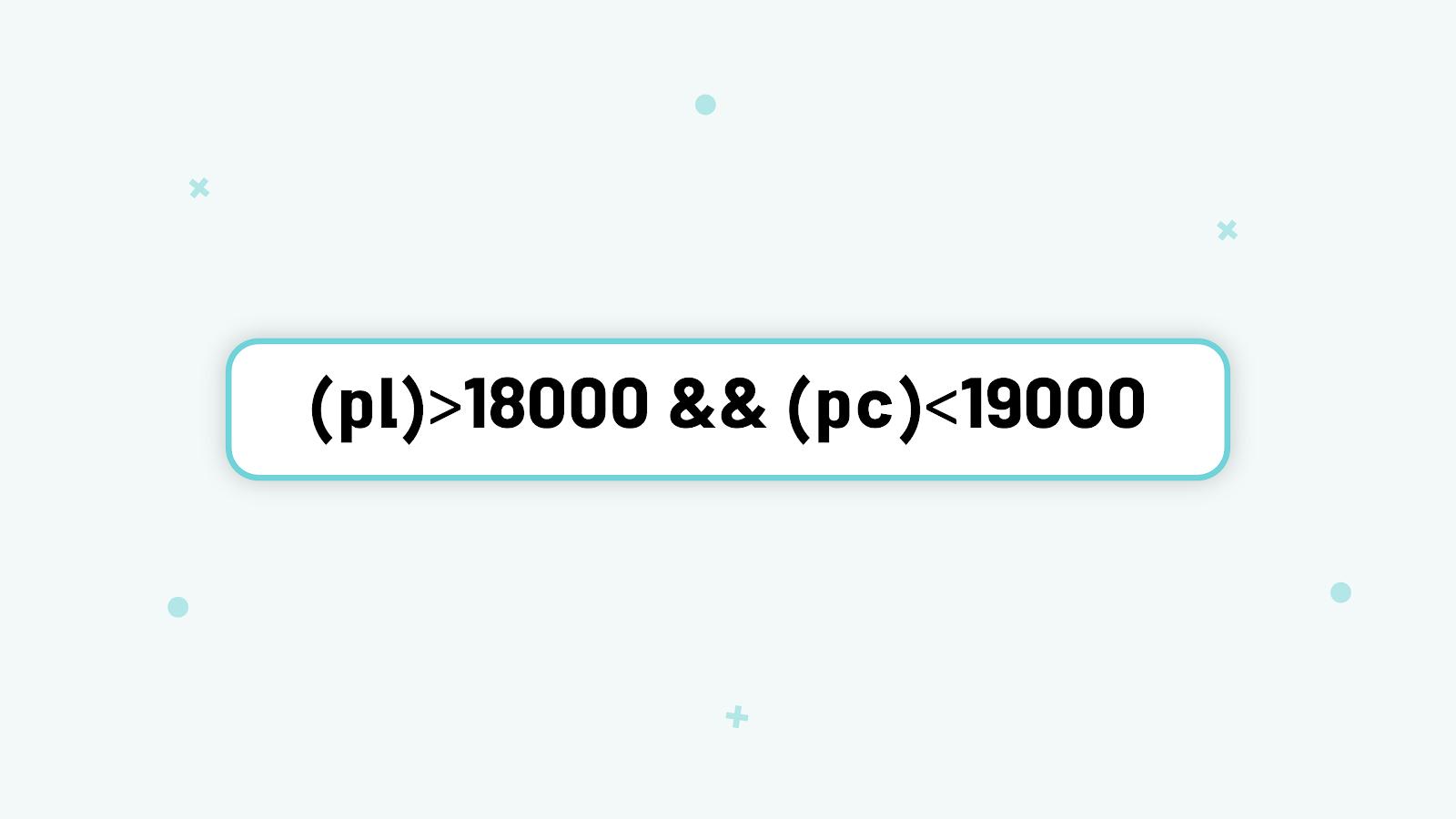 استفاده از عملگرها در فیلتر نویسی