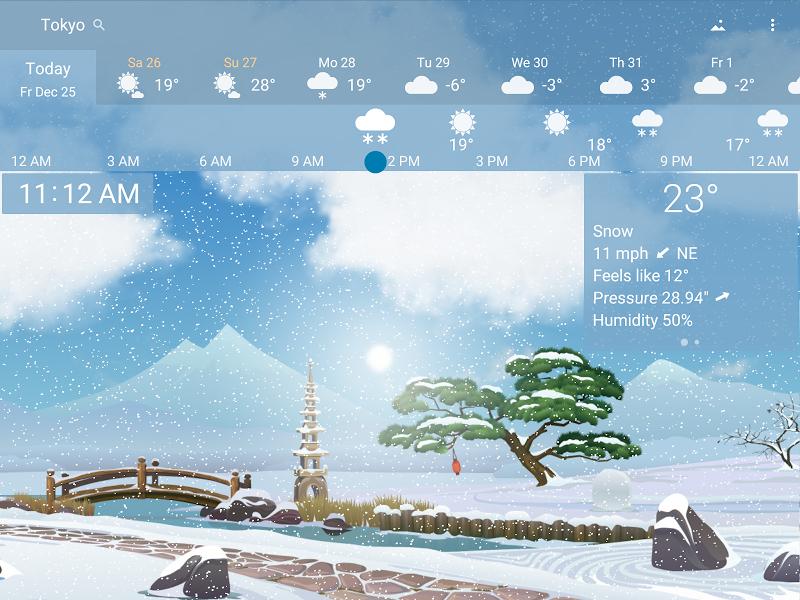 YoWindow Weather Screenshot 12