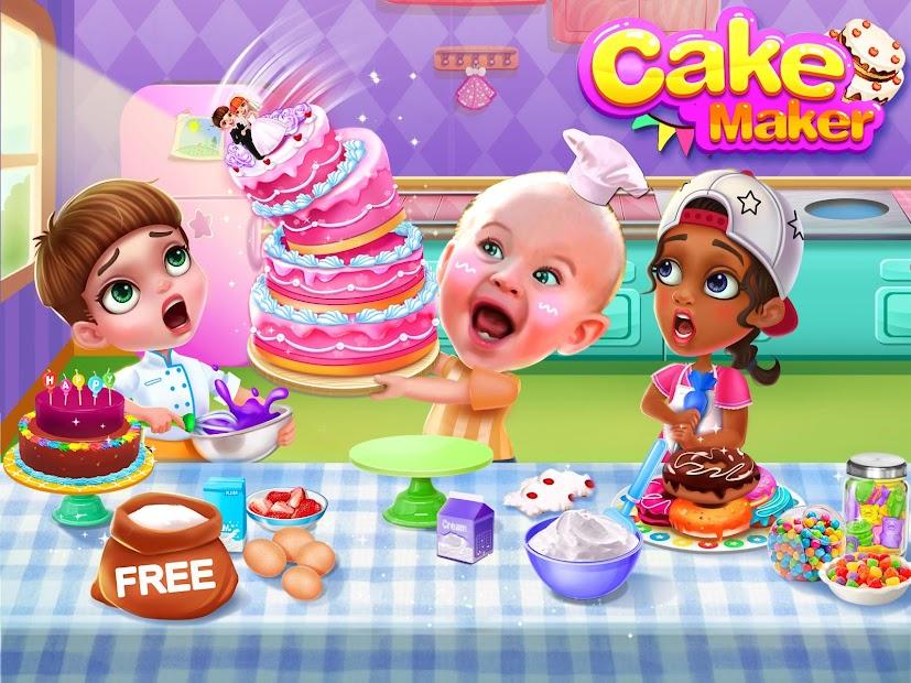 Cake Maker Android App Screenshot