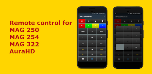 MAG 254 Remote - Apps on Google Play