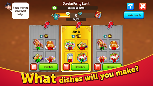 Food Street - Restaurant Management & Food Game 0.50.8 screenshots 2