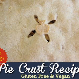 Gluten Free, Vegan Pie Crust