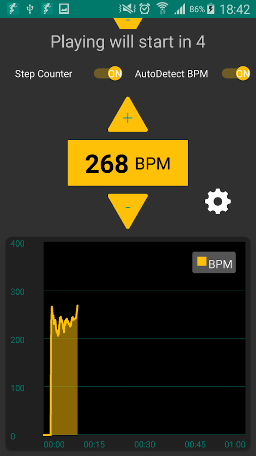 BeatRunner BPM Detection- screenshot