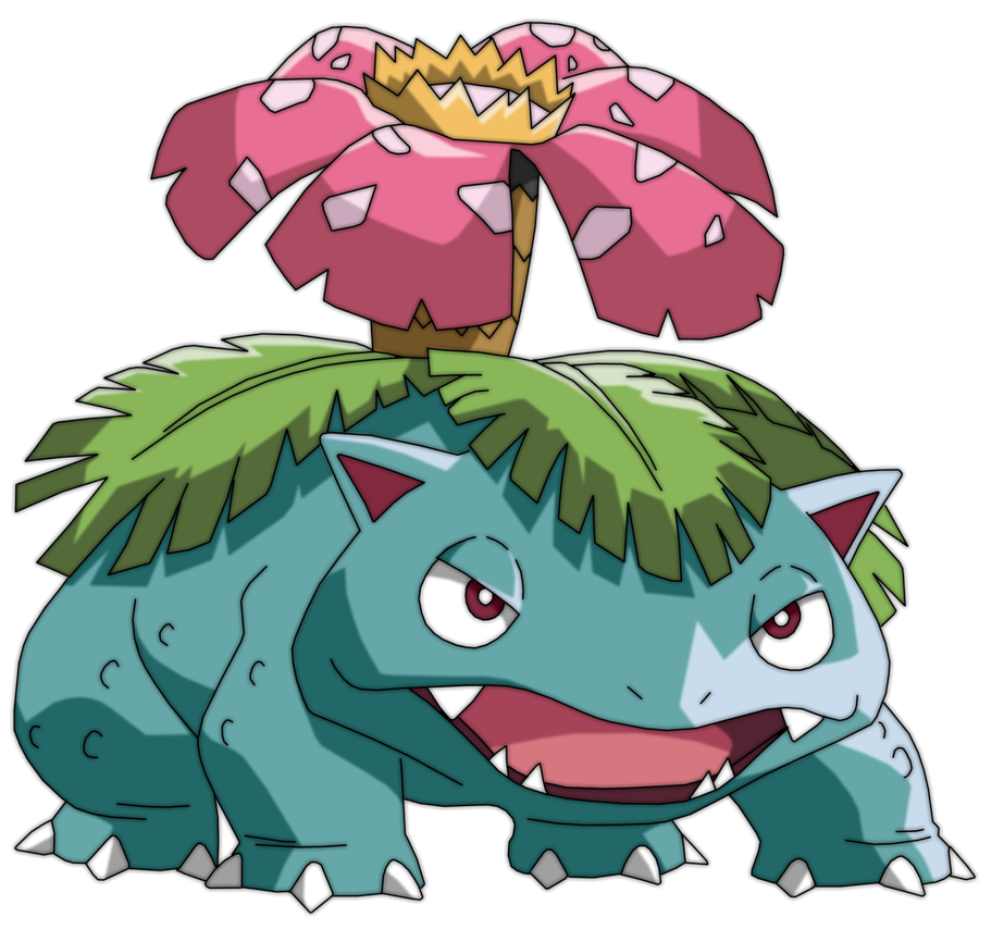 Best Grass Type Pokemon venusaur