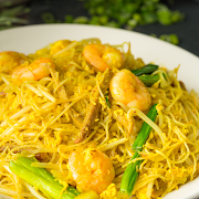 Fried Vermicelli (Singapore Style)