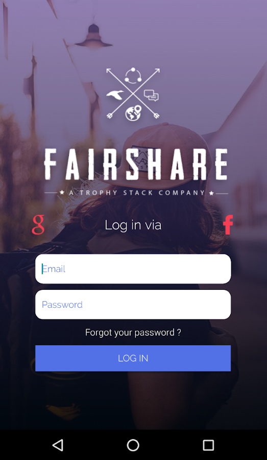 Fairshare- screenshot