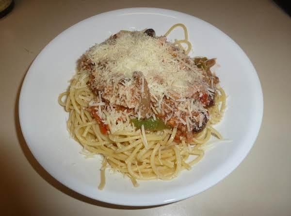 Tuna-olive Pasta Sauce