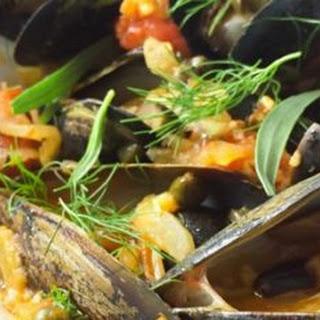 Mussels Alla Puttanesca.