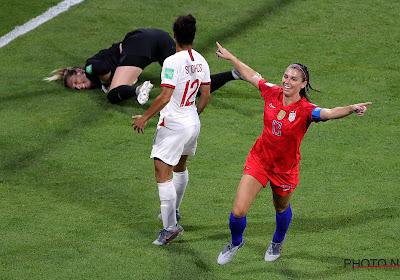 Mondial 2019 : Les États-Unis prennent la mesure de l'Angleterre et filent en finale