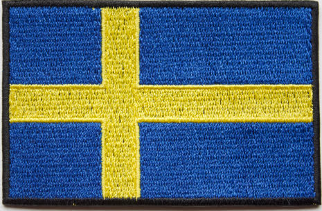 Svensk Flagga Liten Kardborre