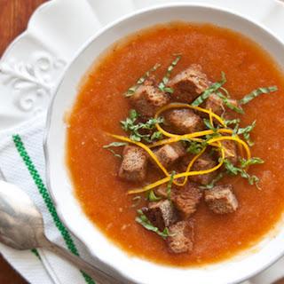 Provençal Fresh Tomato Soup.